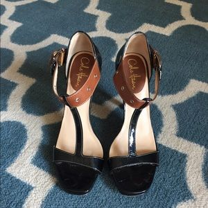 Cole Haan Mixed Material Pump
